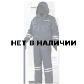 Костюм ДПС д/с (твилл/файбертек) с нашивками Полиция