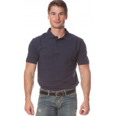 Рубашка Поло с коротким рукавом цвет черный