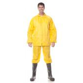 Костюм влагозащ. (курт.+бр.), ткань Нейлон с ПВХ, цвет желтый