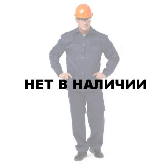 Костюм БЛАР (курт.+бр.), ткань Хлопок, цвет т.синий