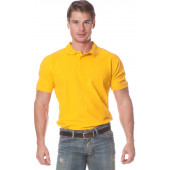 Рубашка Поло с коротким рукавом цвет Желтый