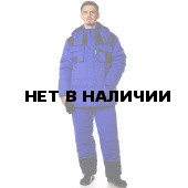 Костюм КОМПАС утеп., (курт.+бр.), т.к Балтекс 1, василек/т.син