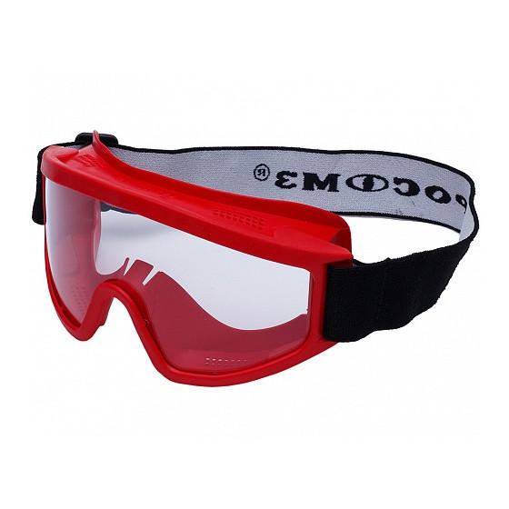 Очки защитные закрытые с прямой вентиляцией ЗП2 SUPER PANORAMA незапотевающее стекло (РОСОМЗ)