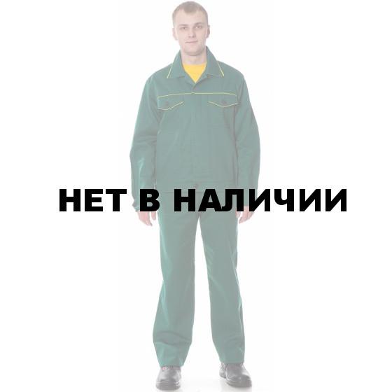 Костюм УНИВЕРСАЛ2 (курт.+п.комб.), ткань Смесовая, цвет зел.-желт.