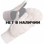 Перчатки-варежки зимние со спилковыми накладками Фрост