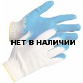 Перчатки трикотажные, покрытие-латекс