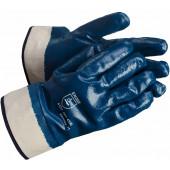 Перчатки нитриловые (крага, полное покрытие) Нитролакс (12/120пар в упак.)