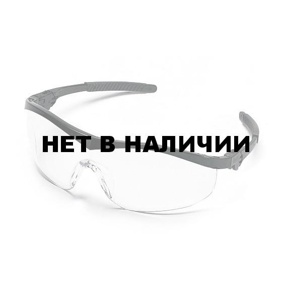 Очки защитные открытые Сторм (MCR), Голубой зеркальный ST128