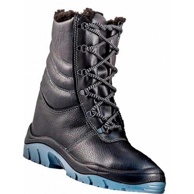 Ботинки кожаные Омон, ПУ+ТПУ, утепленные
