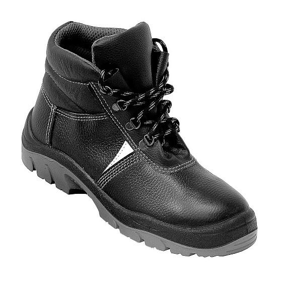 Ботинки кожаные ПУ+ТПУ с мет подноском