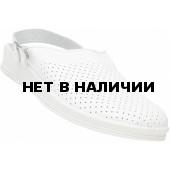 Сабо мужские кожаные цвет Белый