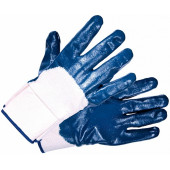 Перчатки нитриловые (крага, частичное покрытие) Нитролакс