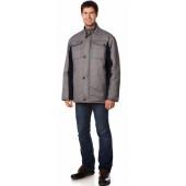 Куртка утепленная Оливер цвет Св.серый-т.синий