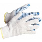 Перчатки трикотажные с ПВХ (4-х нитка)