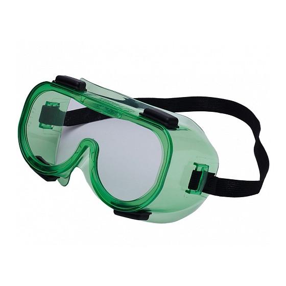 Очки защитные закрытые с непрямой вентиляцией ЗН4 ЭТАЛОН (РОСОМЗ)