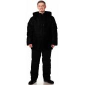 Куртка БАРГУЗИН утепленная, ткань Таслан, цвет черный