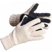 Перчатки зимние со спилковыми накладками Фрост