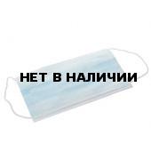 Маска медицинская 3-х слойная на резинке (1 уп. - 50 шт.)