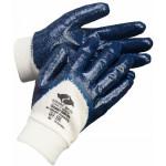 Перчатки нитриловые Эверест Лайт РЧ (манжет резинка, частичный облив, облегченные)
