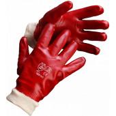 Перчатки МБС, полный облив Гранат