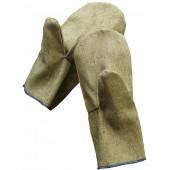 Рукавицы, ткань брезент,пл.480 г/м2,цв.хаки