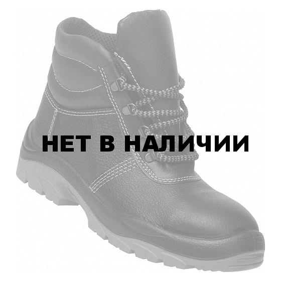 Ботинки кожаные утепленные с металлическим подноском Импала
