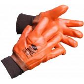Перчатки зимние с ПВХ Монблан РП (манжет резинка)