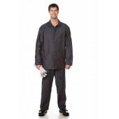 Костюм для защиты от повышенных температур (курт.+бр.), ткань молескин, цвет черный