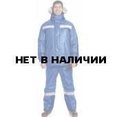 Костюм ЕНИСЕЙ утеп. (курт.+пк.), ткань Оксфорд, цвет Василек-т.синий