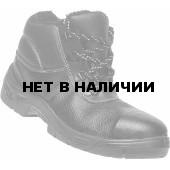 Ботинки кожаные утепленные с металлическим подноском Бонго