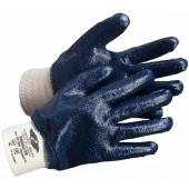 Перчатки нитриловые Эверест РП (манжет резинка, полный облив),