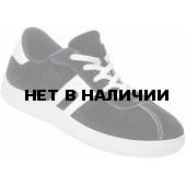 Кроссовки из спилка цвет черный