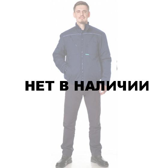 Куртка Дорога утепленная укороченная цвет Т. Синий