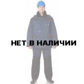 Костюм утепленный Арктика (куртка+полукомбинезон) цвет Синий-черный