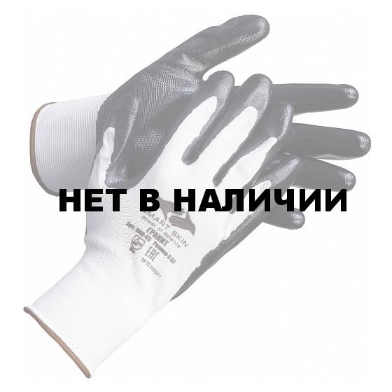 Перчатки нейлоновые с нитрилом Гранит