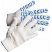 Перчатки трикотажные с ПВХ Люкс - Волна