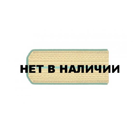 Погоны ПС ФСБ Младшего офицерского состава парадные шелк