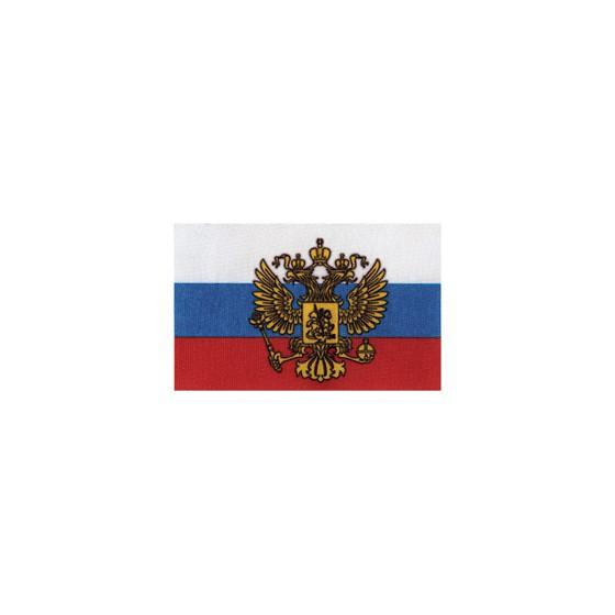 Флаг РФ с гербом автомобильный