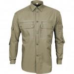 Рубашка Сталкер, длинный рукав, б/п coyote