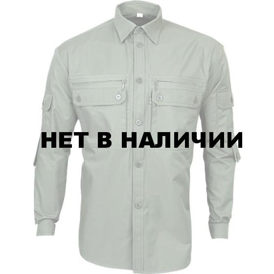 Рубашка Сталкер, длинный рукав, б/п olive