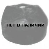 Шапка-ушанка ВМФ черная нат мех, верх кожа