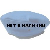 Берет ушитый капелька голубой