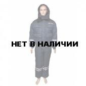 Костюм ДПС зимний с нов. нашивками темно-синий окс/файб 200