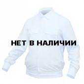 Рубашка ПОЛИЦИЯ серо-голубая с длинным рукавом в заправку
