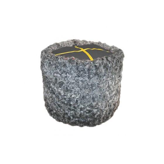 Папаха из серого каракуля (серый верх) для полковника юстиции