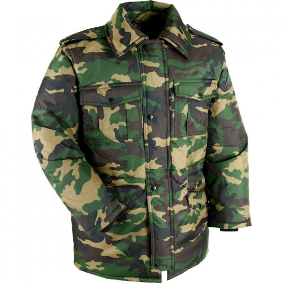Куртка детская зимняя-S лес