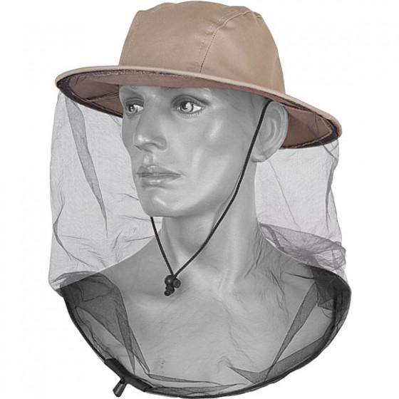 Накомарник-шляпа бежевая