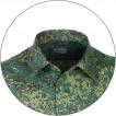Рубашка форменная, длинный рукав, woodland