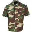Рубашка форменная, короткий рукав, тигр