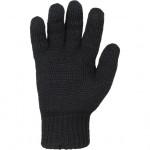 Перчатки вязаные черные